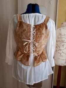 corset 18ème siècle