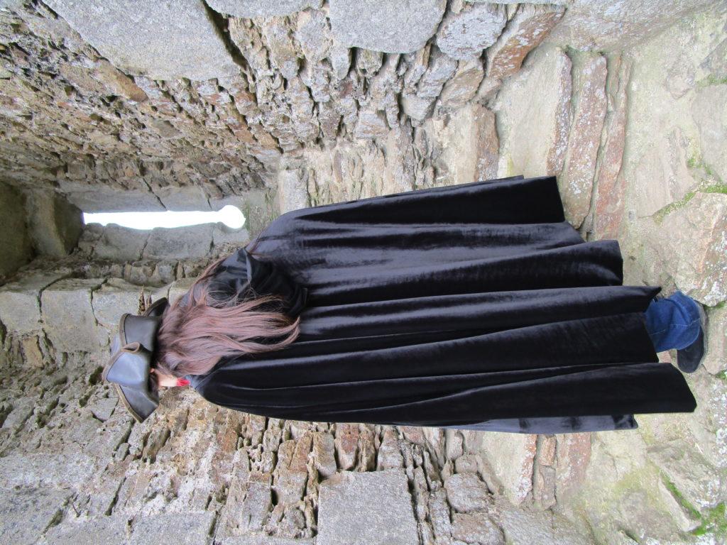 cape doublée coton