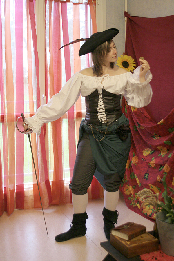 pirate femme 18ème