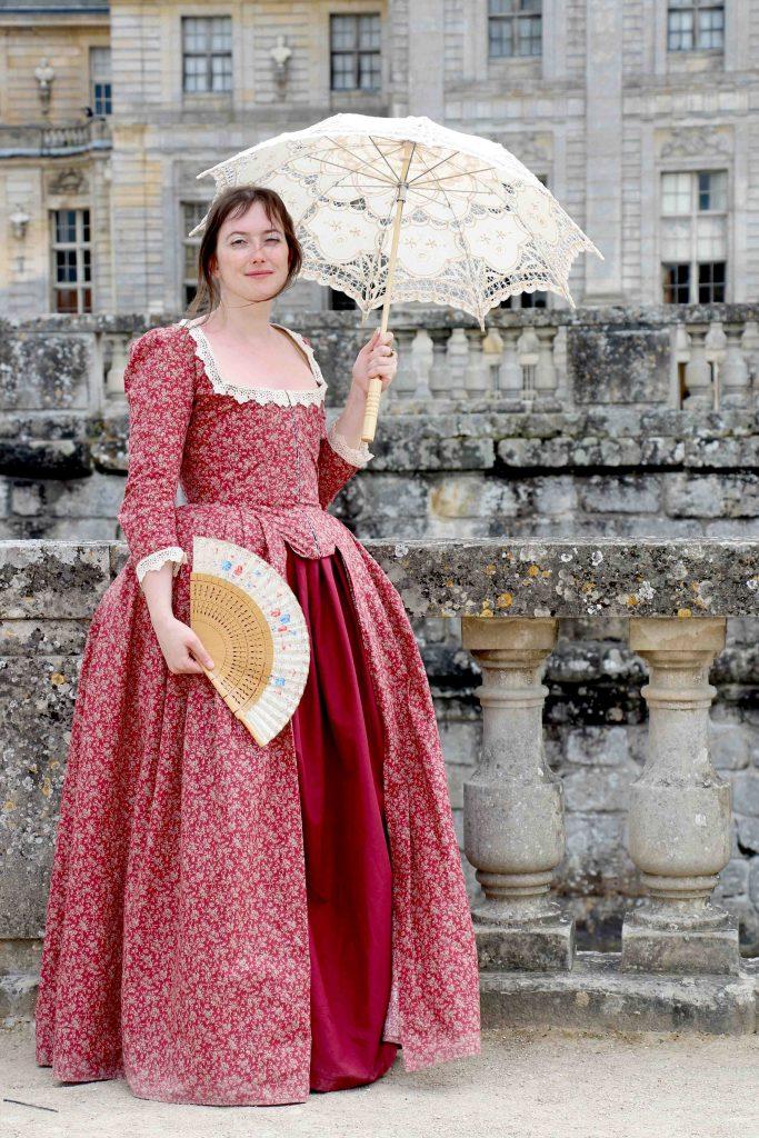 robe 18ème Anglaise