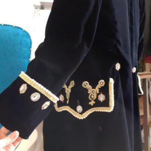 veste 18ème siècle poches