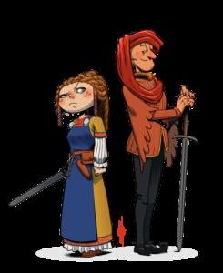 moyen-âge costumes