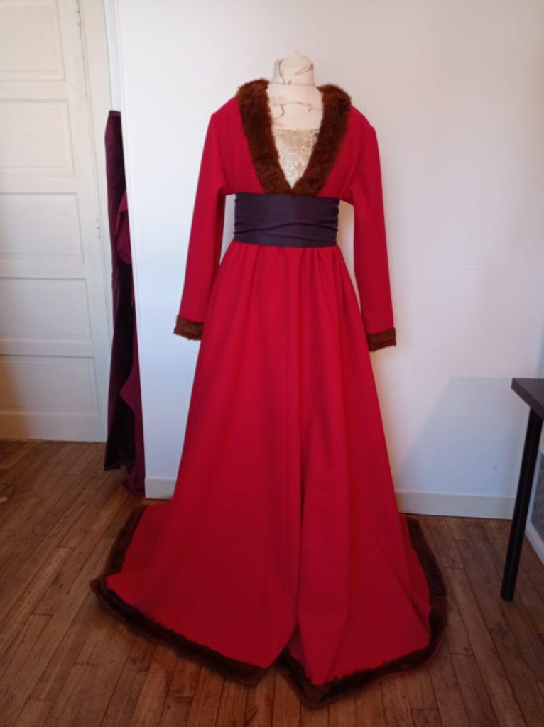 robe a tassel 15ème siècle